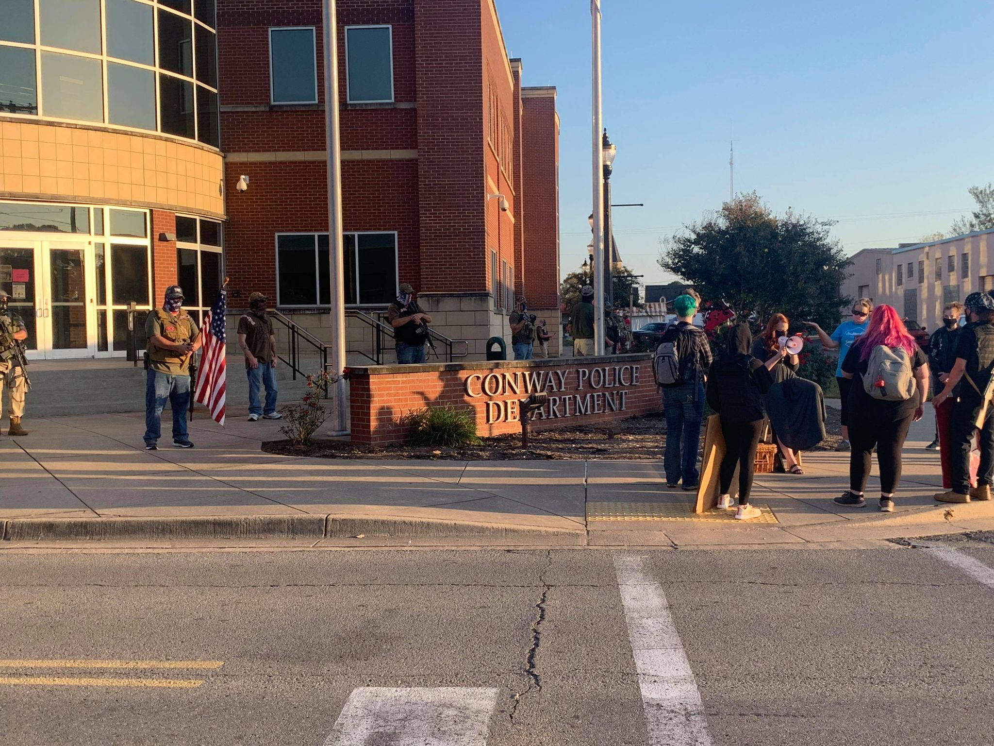 Protests in Conway